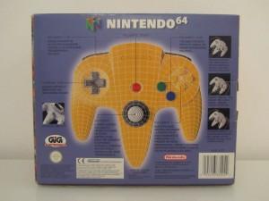 Manette Nintendo 64 Jaune Back