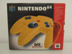 Manette Nintendo 64 Jaune Front