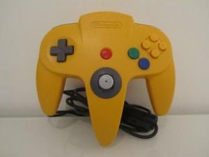 Manette Nintendo 64 Jaune Inside 1