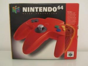 Manette Nintendo 64 Rouge Front