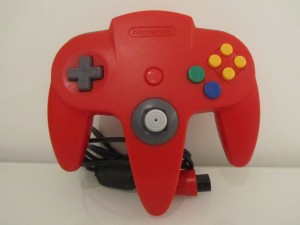 Manette Nintendo 64 Rouge Inside 1