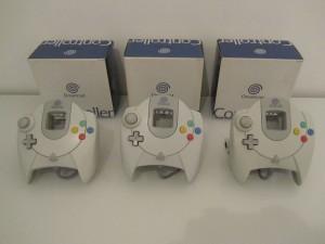 Manettes Dreamcast Front