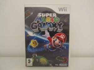 Mario Galaxy Front