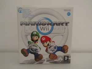 Mario Kart Wii + Wii Wheel Front
