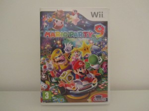 Mario Party 9 Front