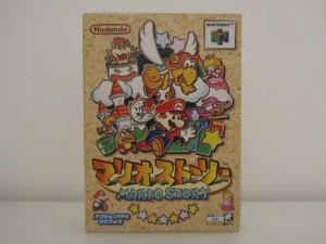 Mario Story Front
