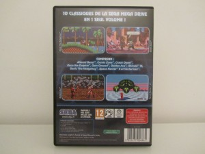 Mega Drive Classic Collection 1 Back