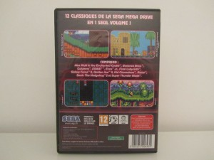 Mega Drive Classic Collection 2 Back