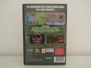 Mega Drive Classic Collection 3 Back
