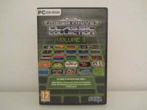 Mega Drive Classic Collection 3 Front
