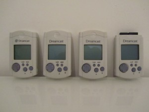 Memory Card Dreamcast Front
