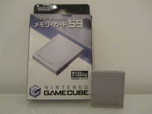 Memory Card GameCube Front