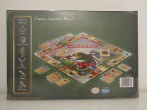Monopoly Zelda Back