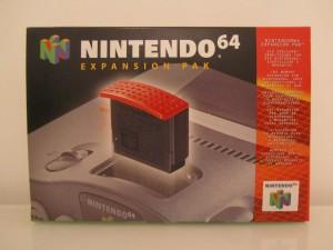 N64 Expansion Pak Front