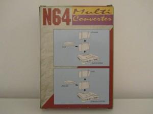 N64 Multi Converter Back