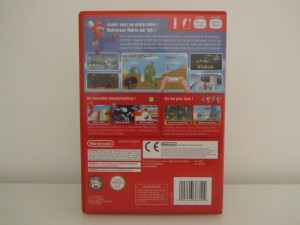 New Super Mario Bros Wii Back
