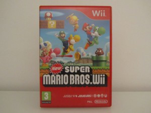 New Super Mario Bros Wii Front