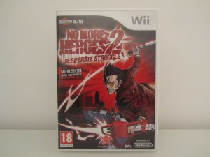 No More Heroes 2 Front