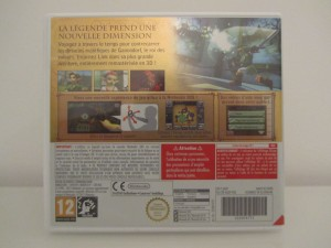 Ocarina Of Time 3D Back
