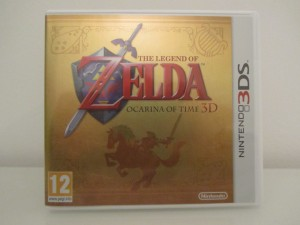 Ocarina Of Time 3D Front