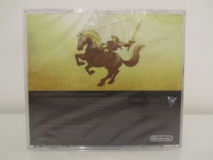 Ocarina Of Time 3D Soundtrack CD Back