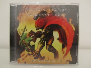 Ocarina Of Time 3D Soundtrack CD Front