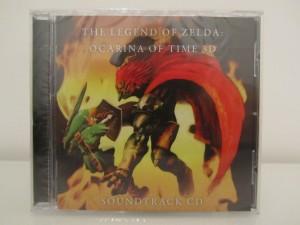 Ocarina Of Time 3D Soundtrack CD Front