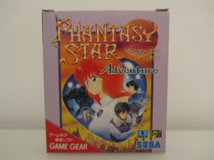 Phantasy Star Adventure Front