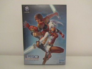 Phantasy Star Online Episode I, II & III Front