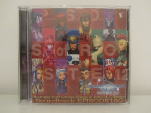 Phantasy Star Online Songs Of Ragol Odyssey Front
