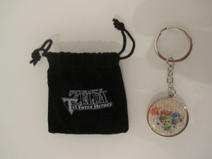 Porte-Clefs TriForce Heroes Front