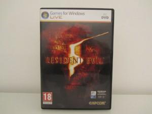 Resident Evil 5 Front