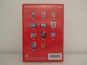 Retrospective Super Mario 1985-2010 Back
