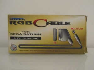 Saturn RGB Cable Back