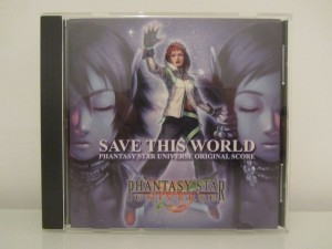 Save This World Phantasy Star Universe Original Score Front
