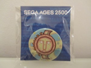Sega Ages 2500 Badge Fantasy Zone Front