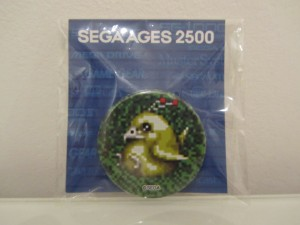 Sega Ages 2500 Badge Rappy Front