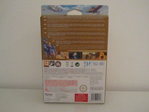 Skyward Sword Collector Back