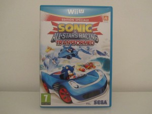 Sonic And All-Stars Racing Transformed Front