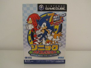 Sonic Mega Collection Front