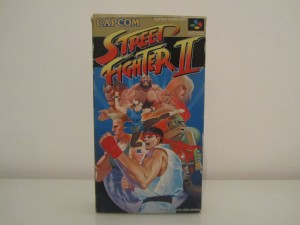 Street Fighter II Front