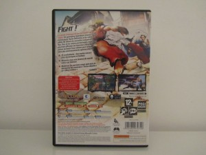 Street Fighter IV Back