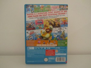 Super Mario 3D World Back
