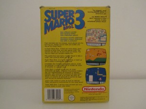 Super Mario Bros 3 Back