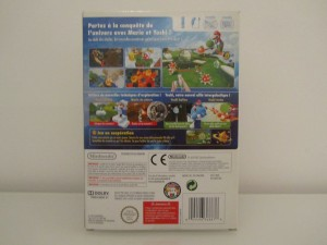 Super Mario Galaxy 2 + DVD Back