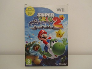 Super Mario Galaxy 2 + DVD Front