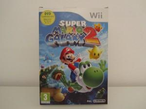 Super Mario Galaxy 2 + DVD Front