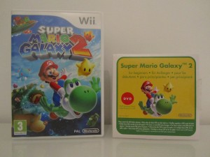 Super Mario Galaxy 2 + DVD Inside 1
