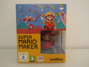 Super Mario Maker Collector Front