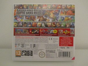 Super Smash Bros 3DS Back